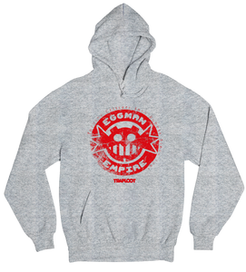 Eggman Empire Red / Sports Grey Hoodie