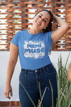 Load image into Gallery viewer, Meme Muse Carolina Blue Shirt