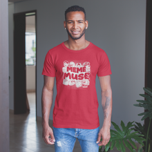 Load image into Gallery viewer, Meme Muse Red Shirt