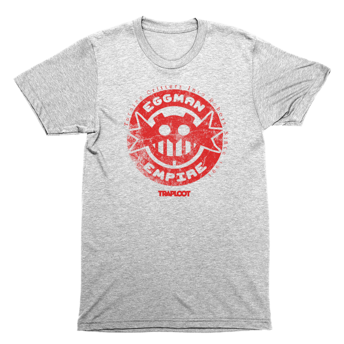 Eggman Empire Red / Sports Grey Shirt