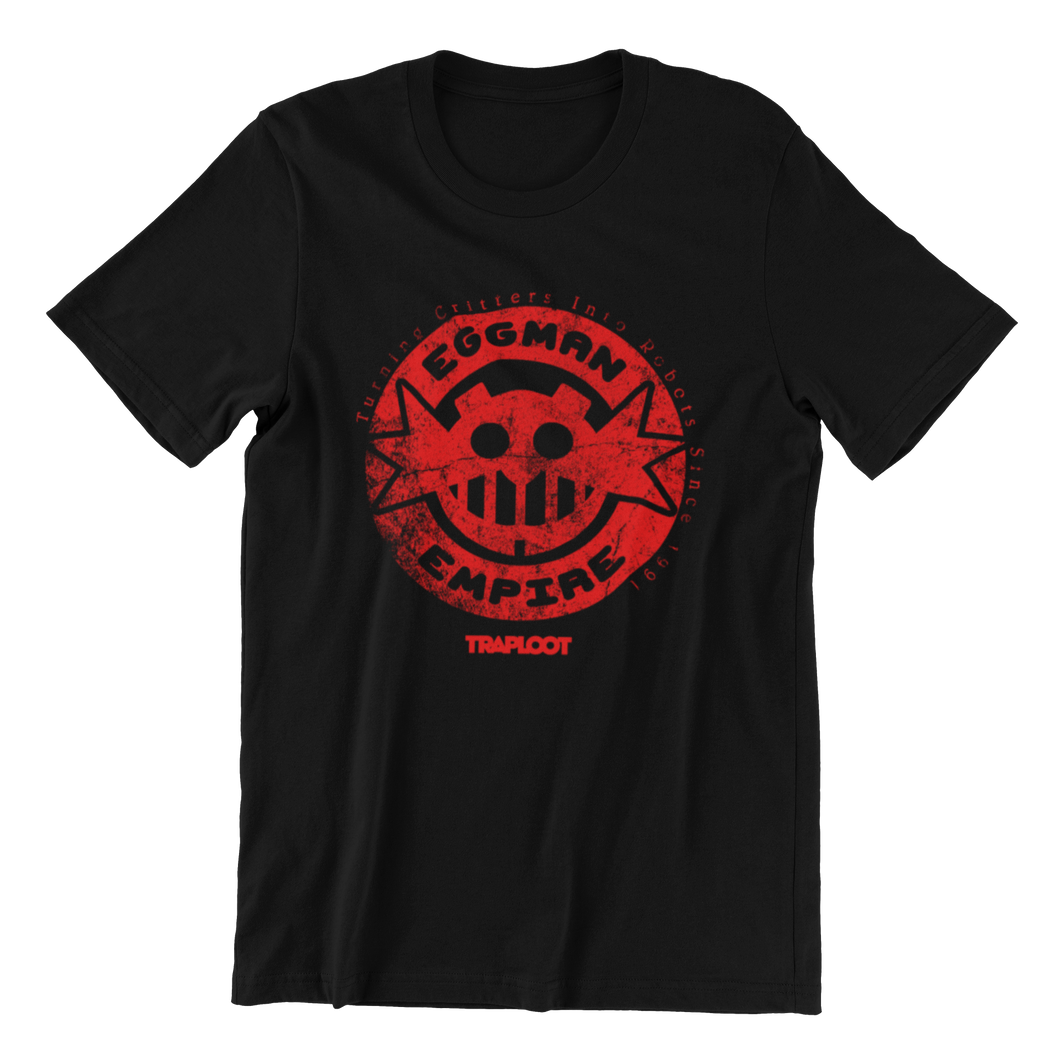 Eggman Empire Red / Black Shirt