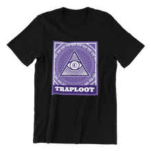 Load image into Gallery viewer, Traplootminati Black Shirt