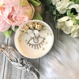 Protection Evil Eye Candle