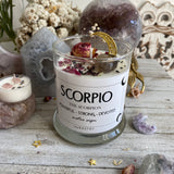Scorpio Soy wax candle
