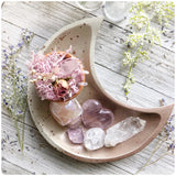 Rose Gold Moon Dish
