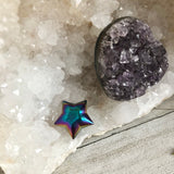 Titanium Rainbow Crystal Star