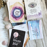 Luna Eye seeing Affirmation Cards