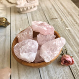 Rough Rose Quartz chunks