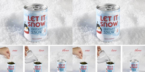 Twos Company Instant Magic Snow in Can - Set of 2