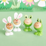 Twos Company Bunny and frog Hoppers Set of 4