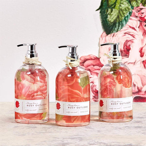 Two' Company Wild Rose Scented Hand Soap Assorted one Design