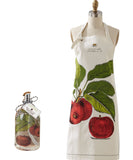 Twos Company Apron in Pie Dish and matching Liquid Hand Soap - Warm Apple