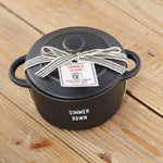 Twos Company Mini Pot Candle Thyme Lemon (Good Thymes)