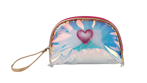 Heart Me Accessories See Through Heart Pouch