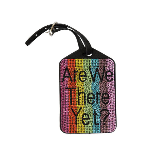 Bari Lynn Swarovski Luggage Tags Are We There yet
