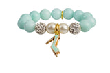 Heart Me Accessories Cabana Blue Bracelet Blue Shoe Charm