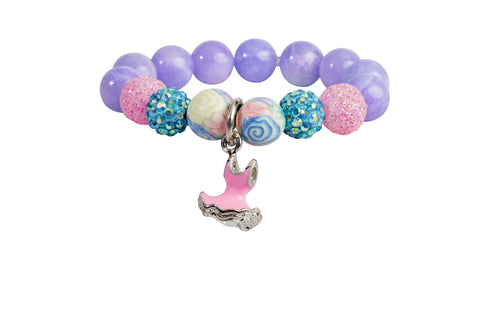 Heart Me Accessories Malibu Sunset Bracelet Pink Tutu Charm