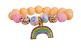 Heart Me Accessories Palm Beach Bracelet Rainbow Charm