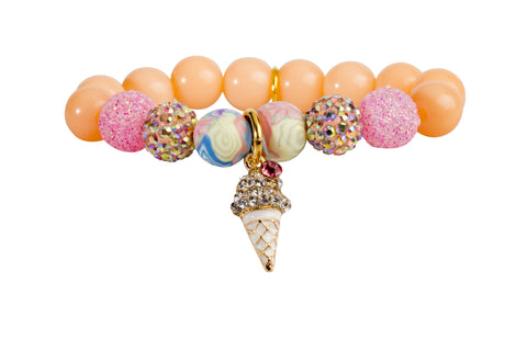 Heart Me Accessories Palm Beach Bracelet Ice Cream Charm