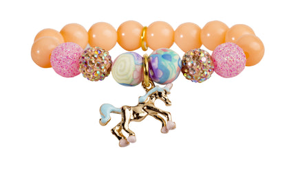 Heart Me Accessories Palm Beach Bracelet Unicorn Charm