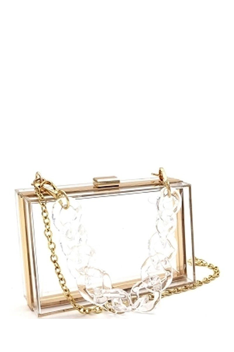 Clear Clutch Purse-Your Style Clothing