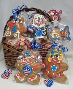 Ginger Joe Biden Cookie Basket