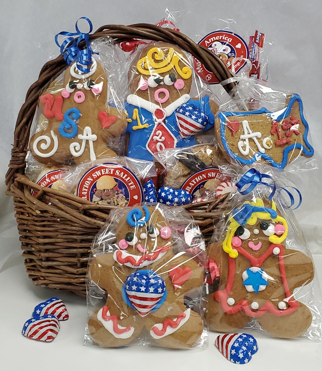 Ginger Donald Trump Cookie Basket