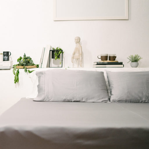 Earth Friendly Bamboo Sheets - Silver