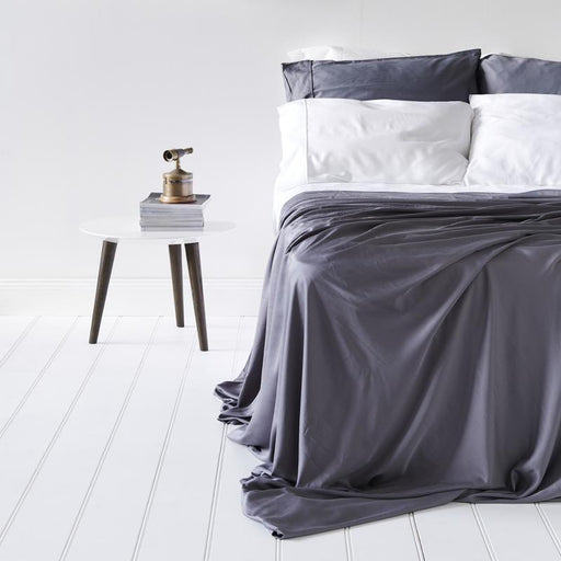 Earth Friendly Bamboo Sheets , Basic Set- Ash