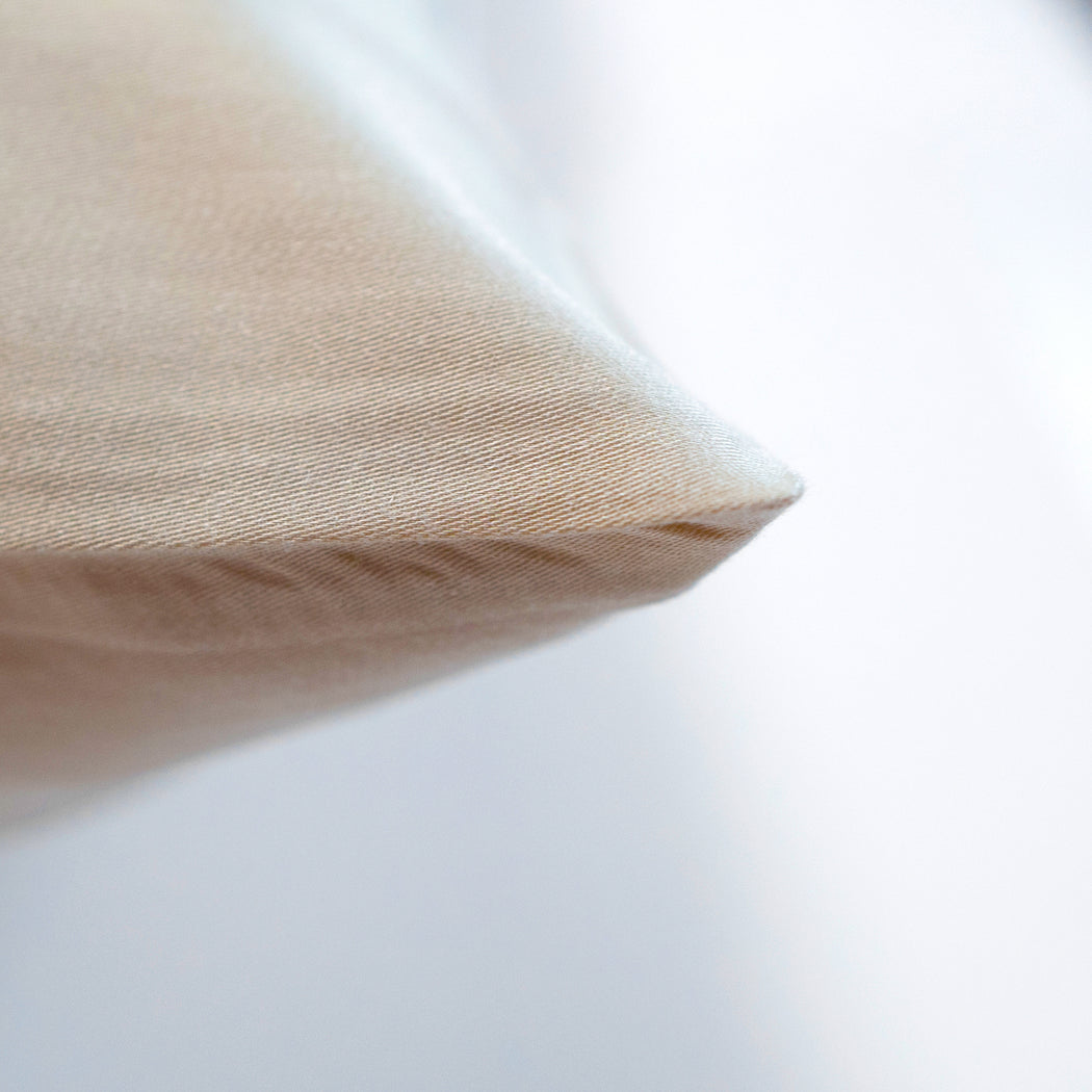 Earth Friendly Pillow Slips - Biscuit