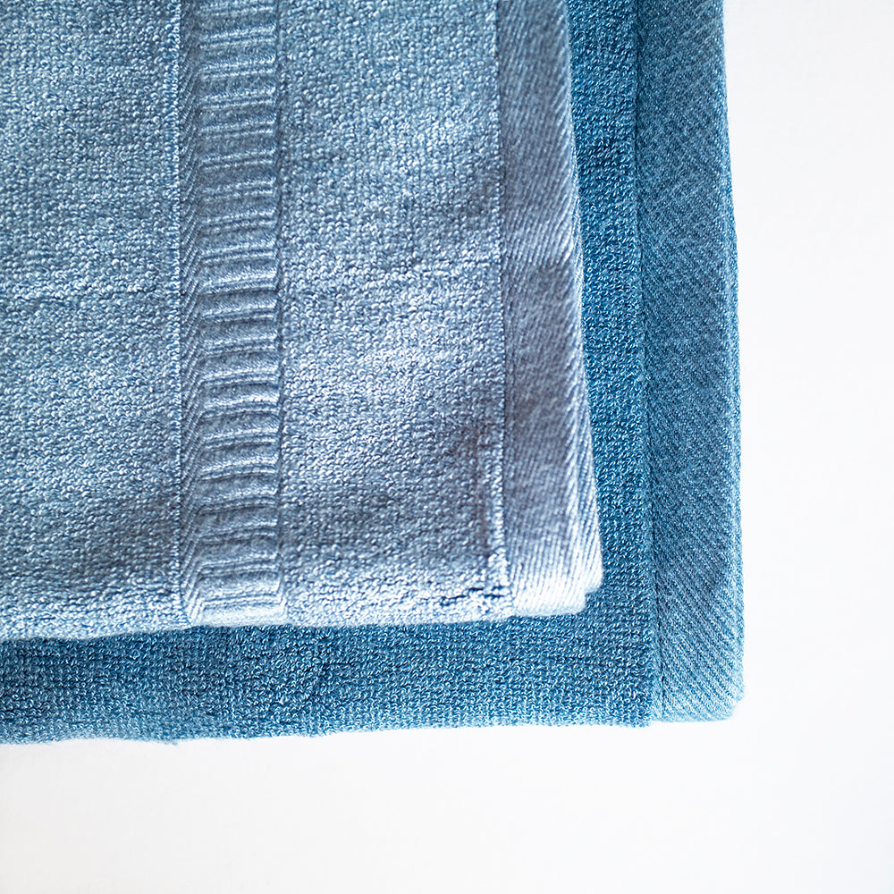 Luxuriously Plush Bamboo Towels - Navy