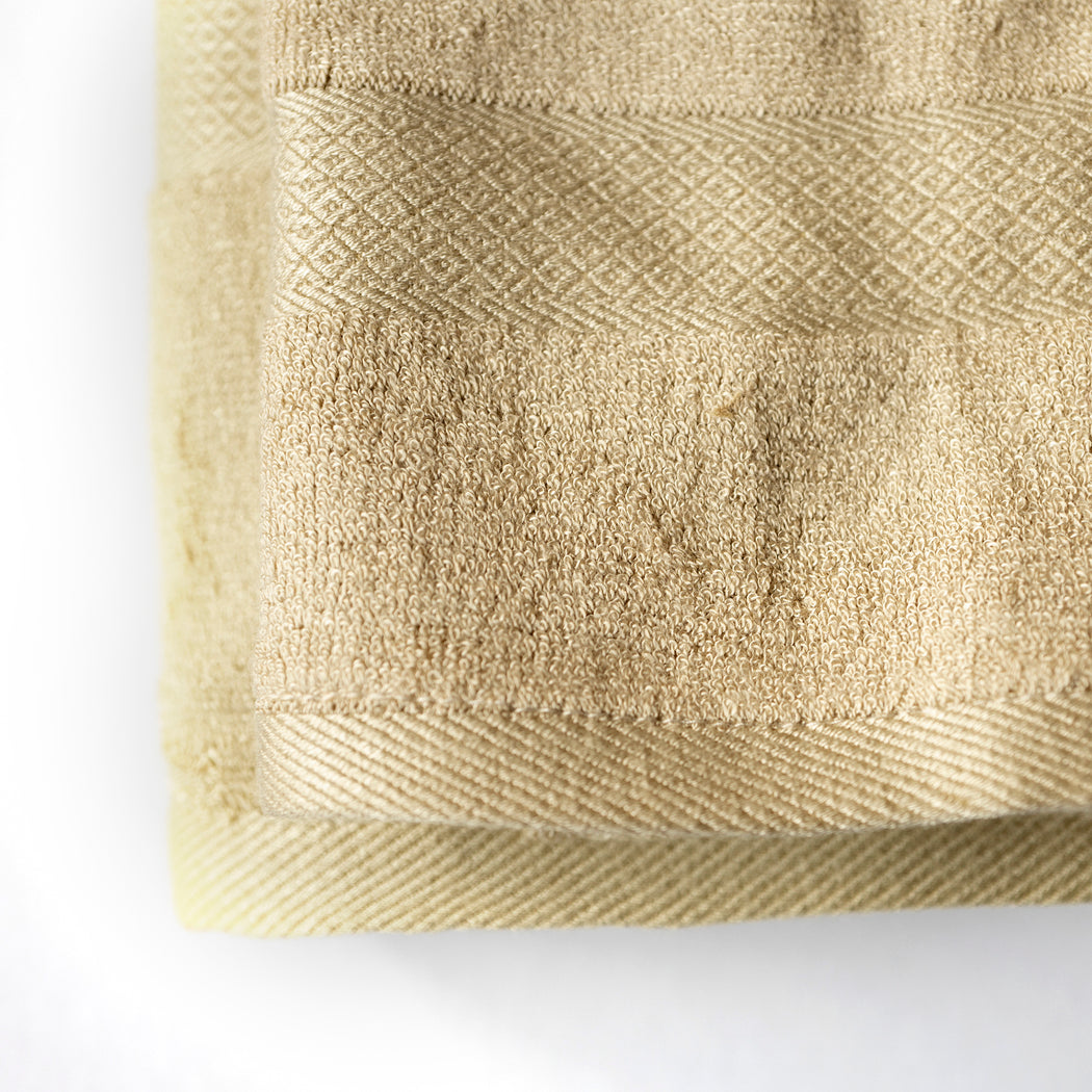 Luxuriously Plush Bamboo Towels - Tan