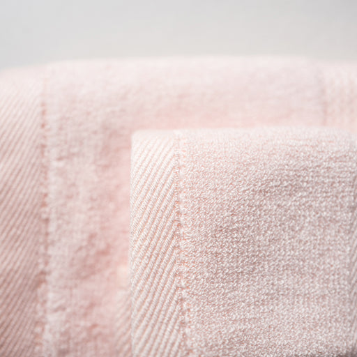 Luxuriously Plush Bamboo Towels - Blush