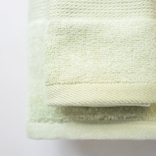 Luxuriously Plush Bamboo Towels - Sage
