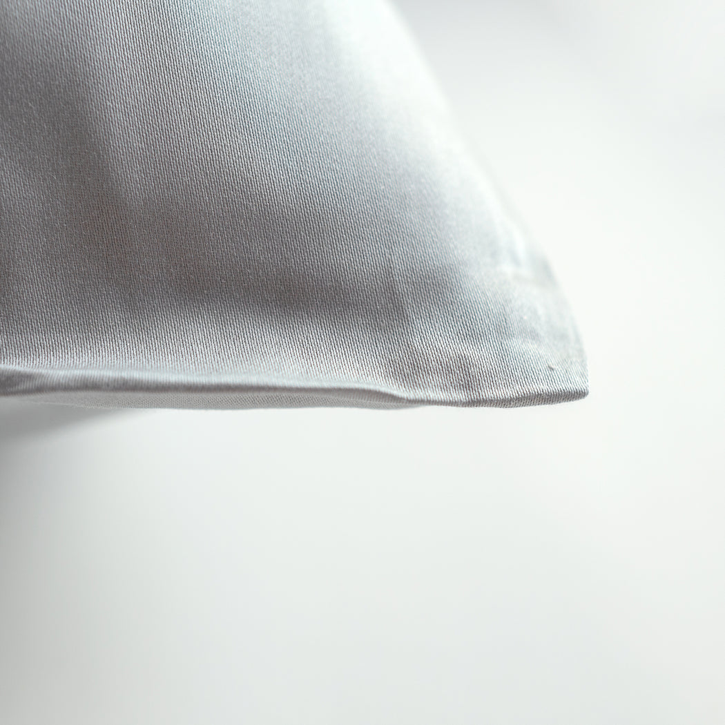 Earth Friendly Pillow Slips - Silver