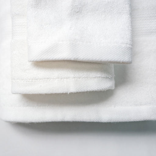Luxuriously Plush Bamboo Towels - Milk
