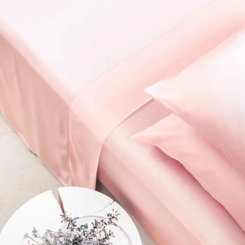 Earth Friendly Bamboo Sheets, Basic Set - Sakura Pink