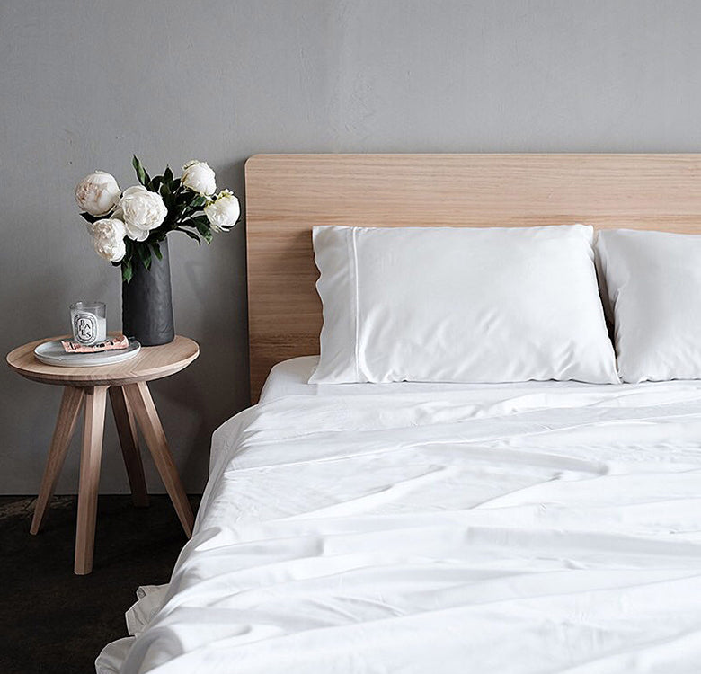 Earth Friendly Bamboo Sheets, Basic Set - Milk