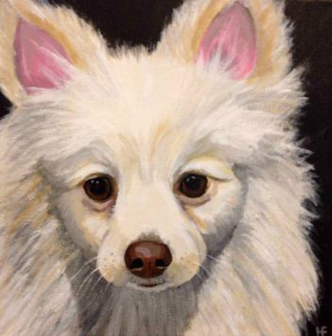 "Custom Pet Portrait 12"" x 12"""