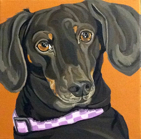 "Custom Pet Portrait 24"" x 30"""