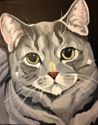 "Custom Pet Portrait 9"" x 12"""