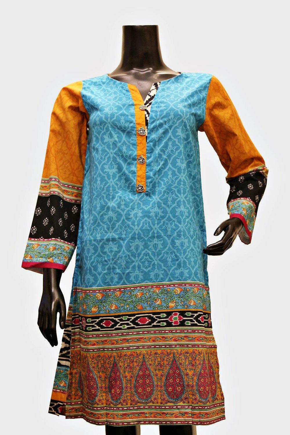 Aqua New 2020 Digital Print Kurti - Brandsea UK