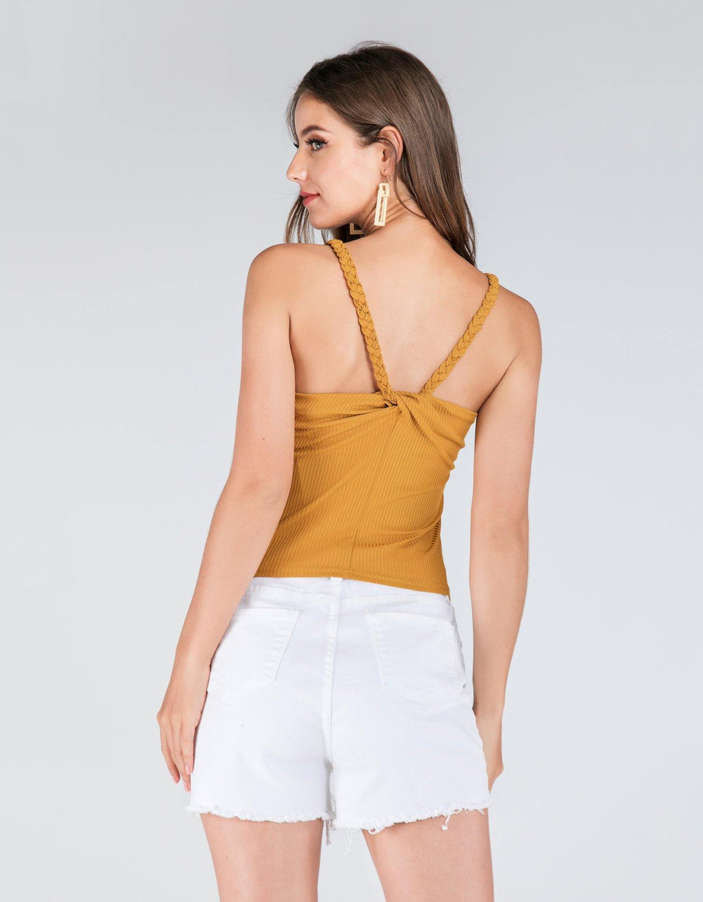 Cross Back Tube Top