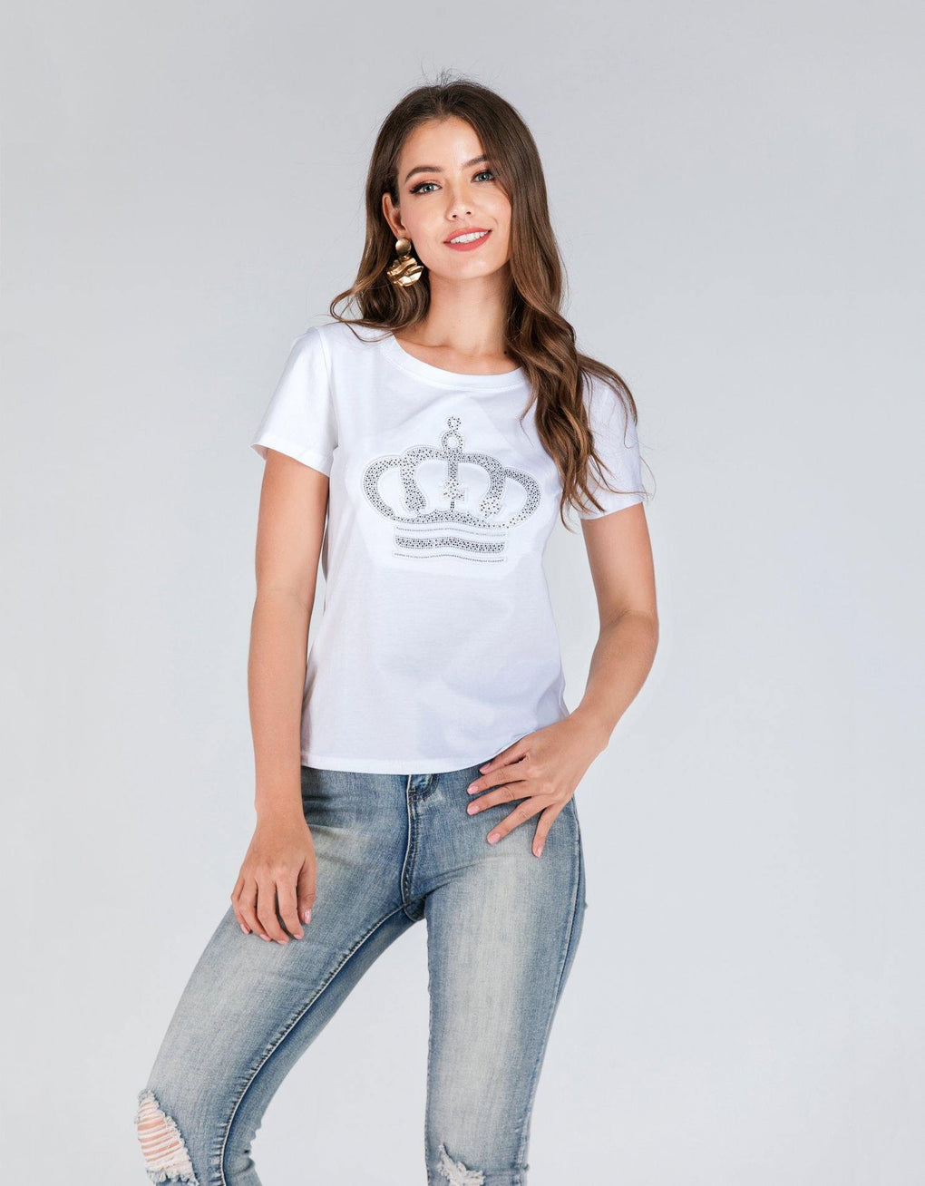 Jewel Crown Tee