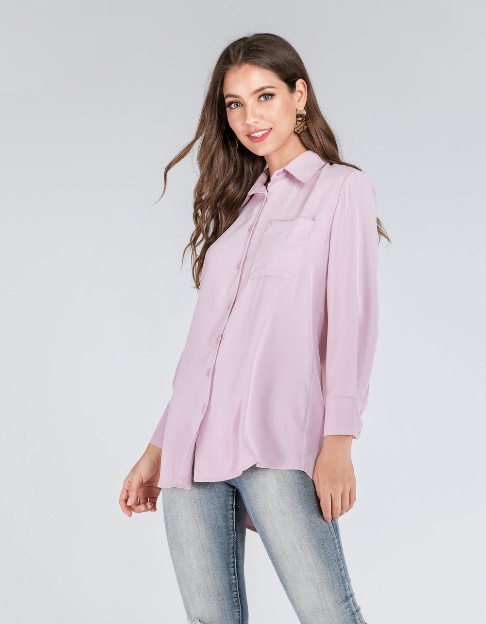 Button-Down Collared Shirt