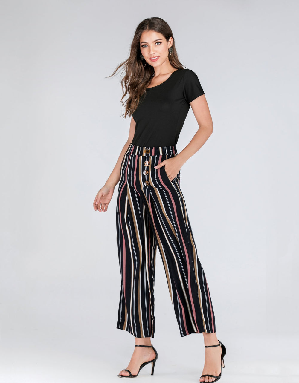 Line Stripes Trousers