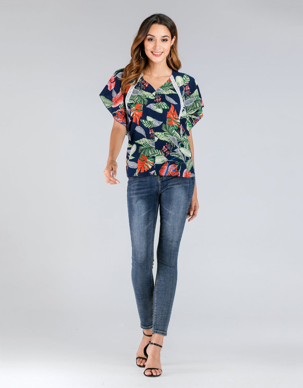 Short Leaves Top