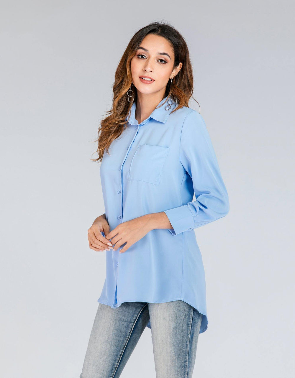 Button-Down Collared Shirt - Brandsea UK