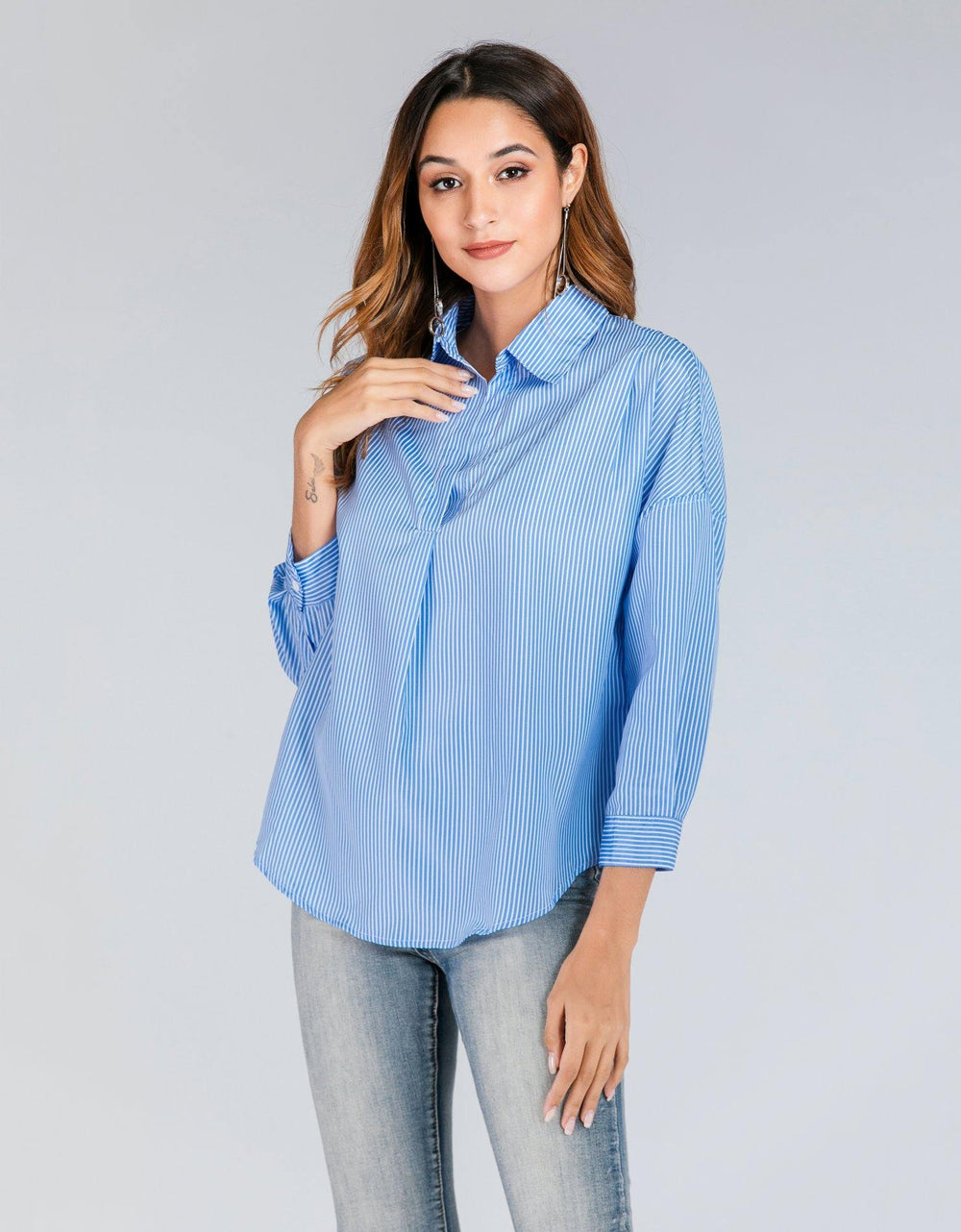 Bengal Stripes Collar Shirt - Brandsea UK