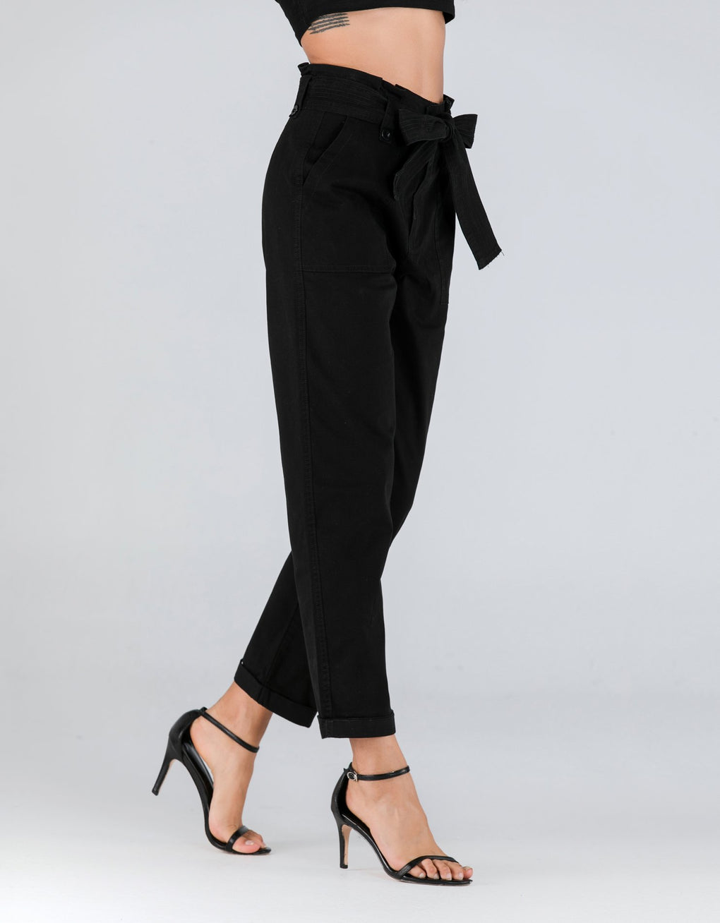 Tie Belt Trousers